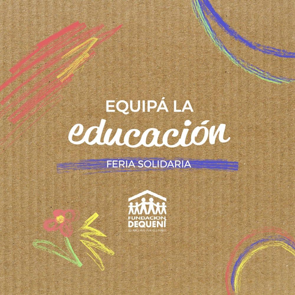 Equipa la educación