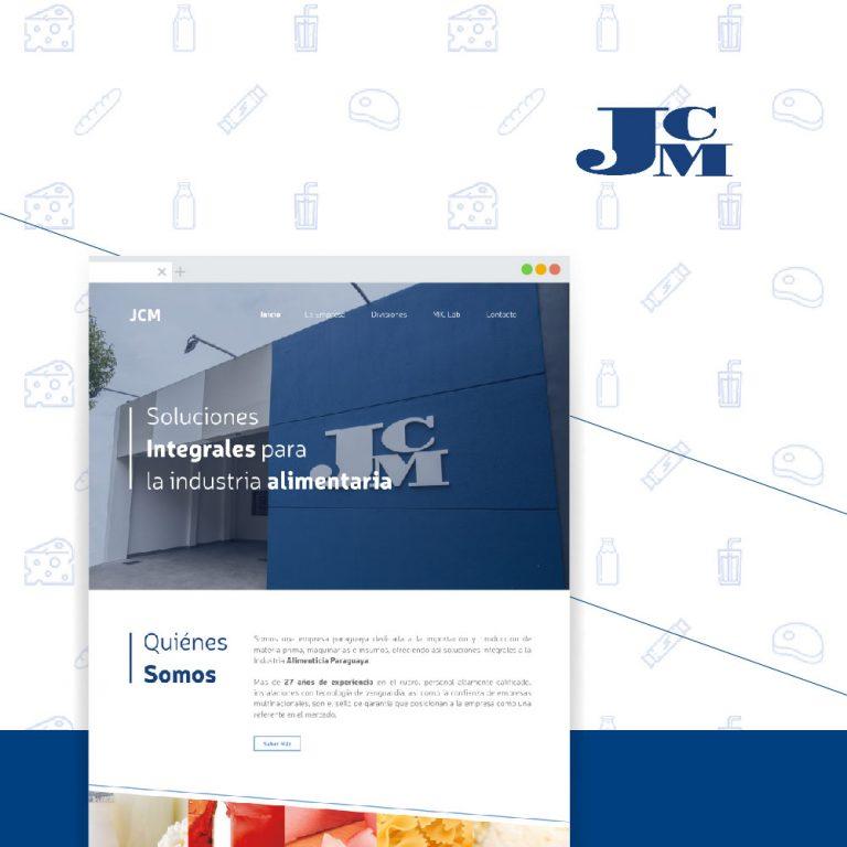 Sitio Web institucional JCM
