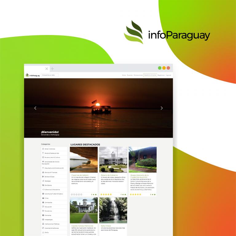 App móvil Info Paraguay