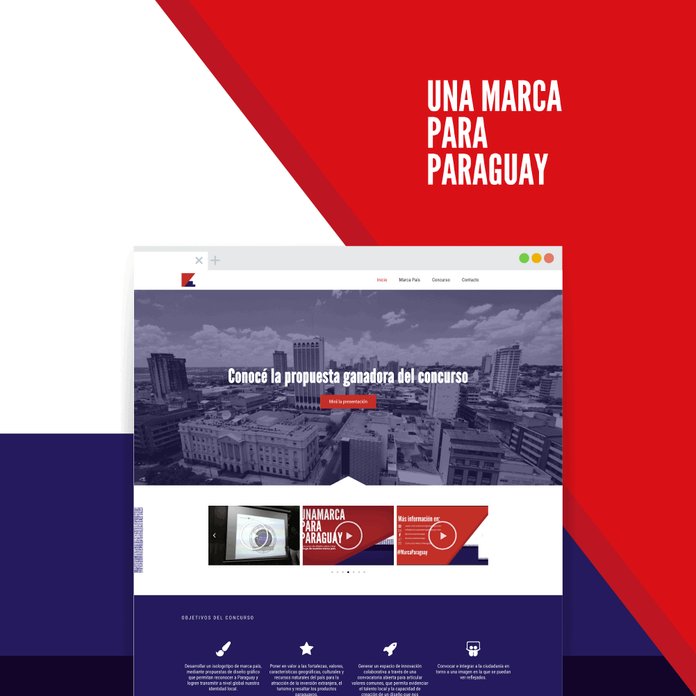 Landing Page Marca Paraguay