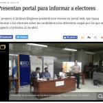 Presentan portal para informar a electores | ABC DIGITAL